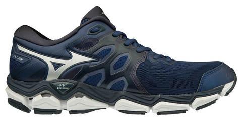 Mizuno Wave Horizon 3 кроссовки для бега мужские темно-синие