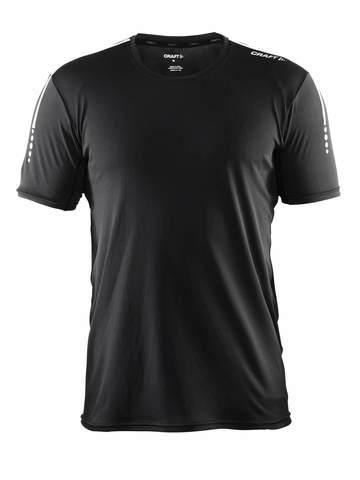 Craft Mind Run мужская спортивная футболка черная