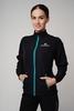 Nordski Motion костюм для бега женский Black-Light Blue - 3