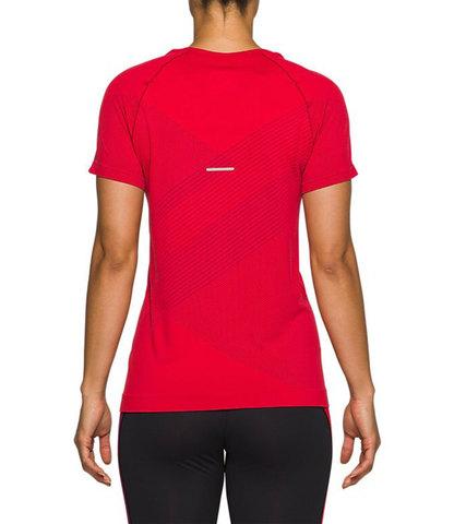 Asics Tokyo Seamless Ss футболка для бега женская красная