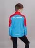 Nordski Jr Sport куртка для бега детская red-blue - 2