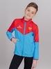 Nordski Jr Sport куртка для бега детская red-blue - 1