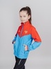 Nordski Jr Sport куртка для бега детская red-blue - 4