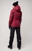 Nordski Mount лыжная утепленная куртка женская wine - 3