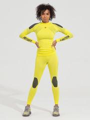 V-MOTION Alpinesports женское термобелье комплект неоновый