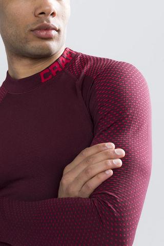Craft Warm Intensity терморубашка мужская бордо