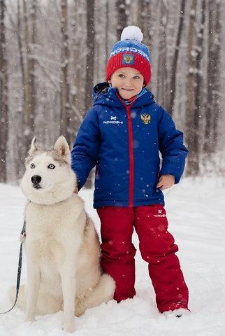 Nordski Jr Patriot теплый лыжный костюм детский