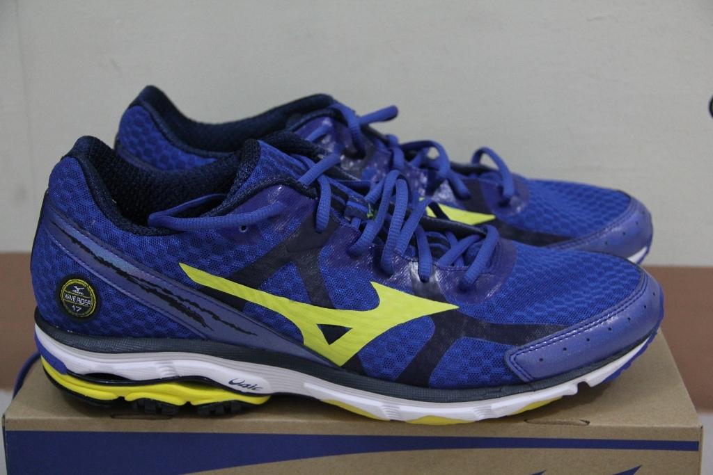 Mizuno Wave Rider 17 кроссовки для бега синие - 7