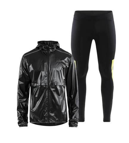 Craft Nanoweight Urban костюм для бега мужской черный