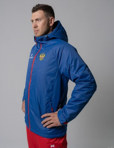 Nordski Patriot Premium утепленный лыжный костюм мужской Blue-Black