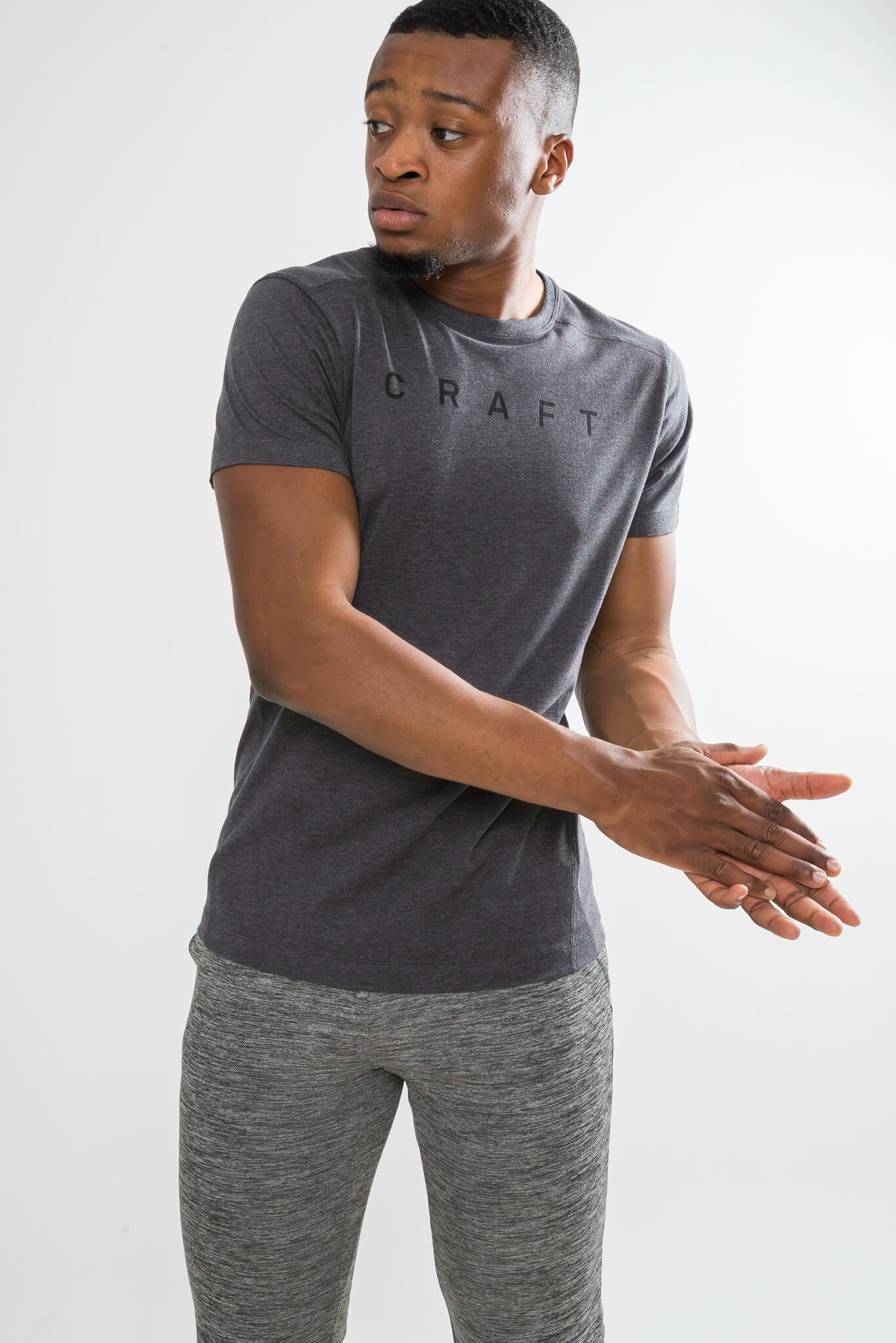 Craft Deft 2.0 футболка мужская dark grey - 2