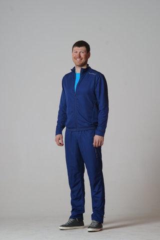 Nordski Sport унисекс ветровка темно-синяя