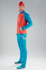 Nordski Premium разминочный костюм мужской red-blue