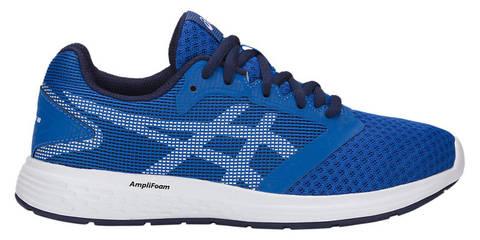 Asics Patriot 10 GS кроссовки для бега детские синие