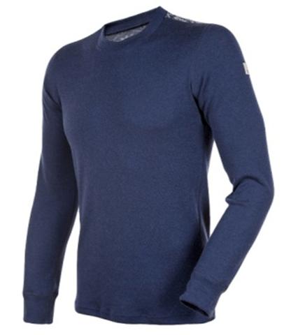Janus Merino Wool термобелье мужское свитер темно-синяя