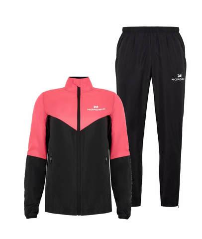 Nordski Sport Motion костюм для бега женский pink-black
