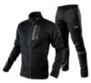 Victory Code Go Fast разминочный лыжный костюм черный - 1