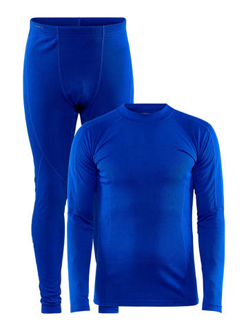Craft Core Warm Baselayer комплект термобелья мужской blue