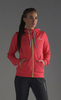 Nordski Hood толстовка женская pink-yellow - 1