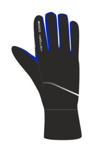 Victory Code A4 перчатки лыжные black-blue