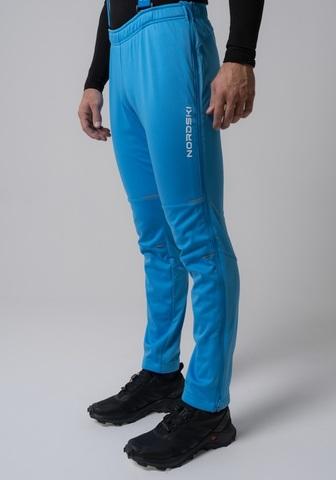 Nordski Premium разминочные лыжные брюки мужские синие