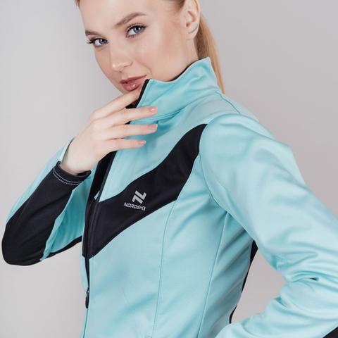 Nordski Base Active разминочный костюм женский mint