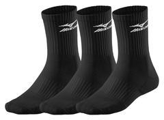 Mizuno Training 3p Sock комплект носков черный