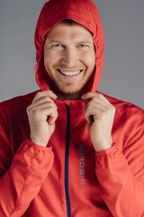 Nordski Run куртка для бега  мужская Red