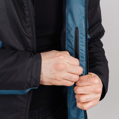 Теплая лыжная куртка мужская Nordski Base deep teal