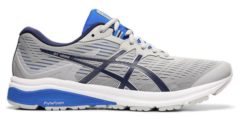 Asics Gt 1000 8 кроссовки для бега мужские серые-синие