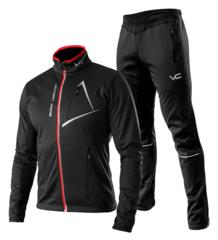 Victory Code Dynamic разминочный лыжный костюм черный