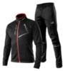 Victory Code Dynamic разминочный лыжный костюм черный - 1