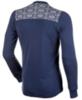 Janus Merino Wool термобелье мужское свитер темно-синяя - 2