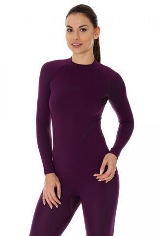 Brubeck Thermo Nilit Heat терморубашка женская фиолет