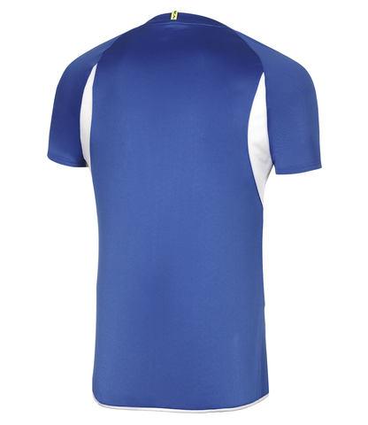Mizuno Authentic Tee беговая футболка мужская синяя