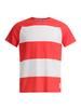 Gri Маяк футболка мужская красно-белая - 1