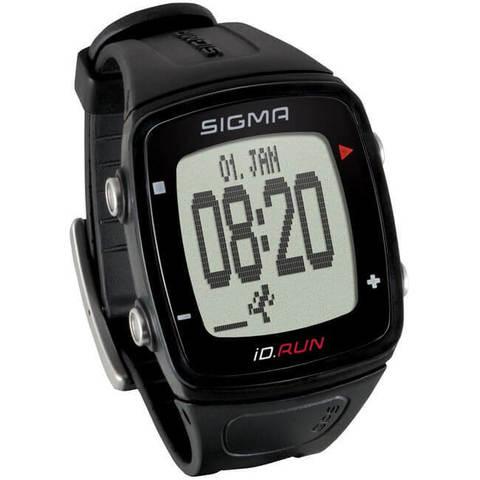 Sigma ID.Run спортивный пульсометр black