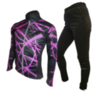 Olly Bright Sport лыжный разминочный костюм purple - 1