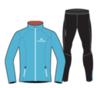 Nordski Premium беговой костюм мужской Black-Blue - 1