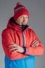 Nordski Montana Premium RUS прогулочный лыжный костюм мужской Red - 3