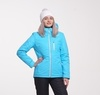 Nordski Active женская утепленная лыжная куртка голубая - 1