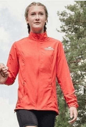 Nordski Jr Motion Run костюм для бега детский red-black