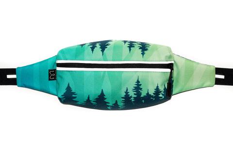 Enklepp Marathon Waist Bag поясная сумка fir
