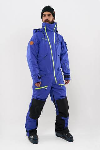 Cool Zone KITE мужской комбинезон для сноуборда синий