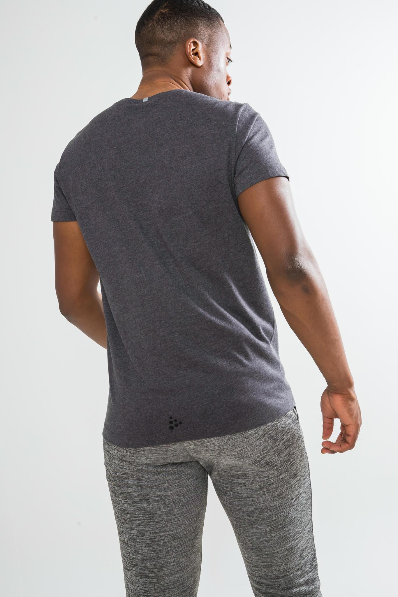 Craft Deft 2.0 футболка мужская dark grey - 3