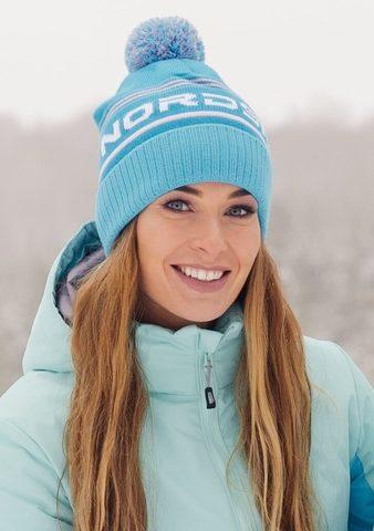 Nordski Stripe теплая шапка breeze