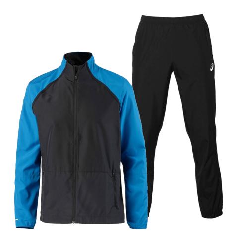 Asics Silver Woven мужской костюм для бега blue-black