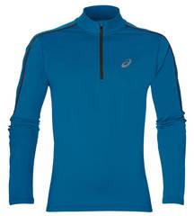 Беговая рубашка мужская Asics Ls Winter Top синяя