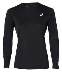 Asics Silver Ls Top женская рубашка для бега черная