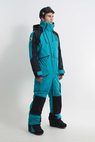 Cool Zone DROP комбинезон для сноуборда мужской черный-волна